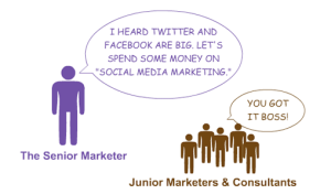 To make money with social media stop considering it as a communication channel